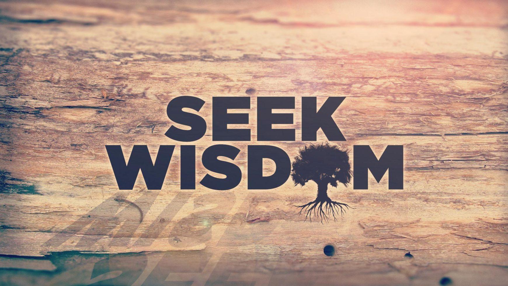 The Purpose Of Wisdom